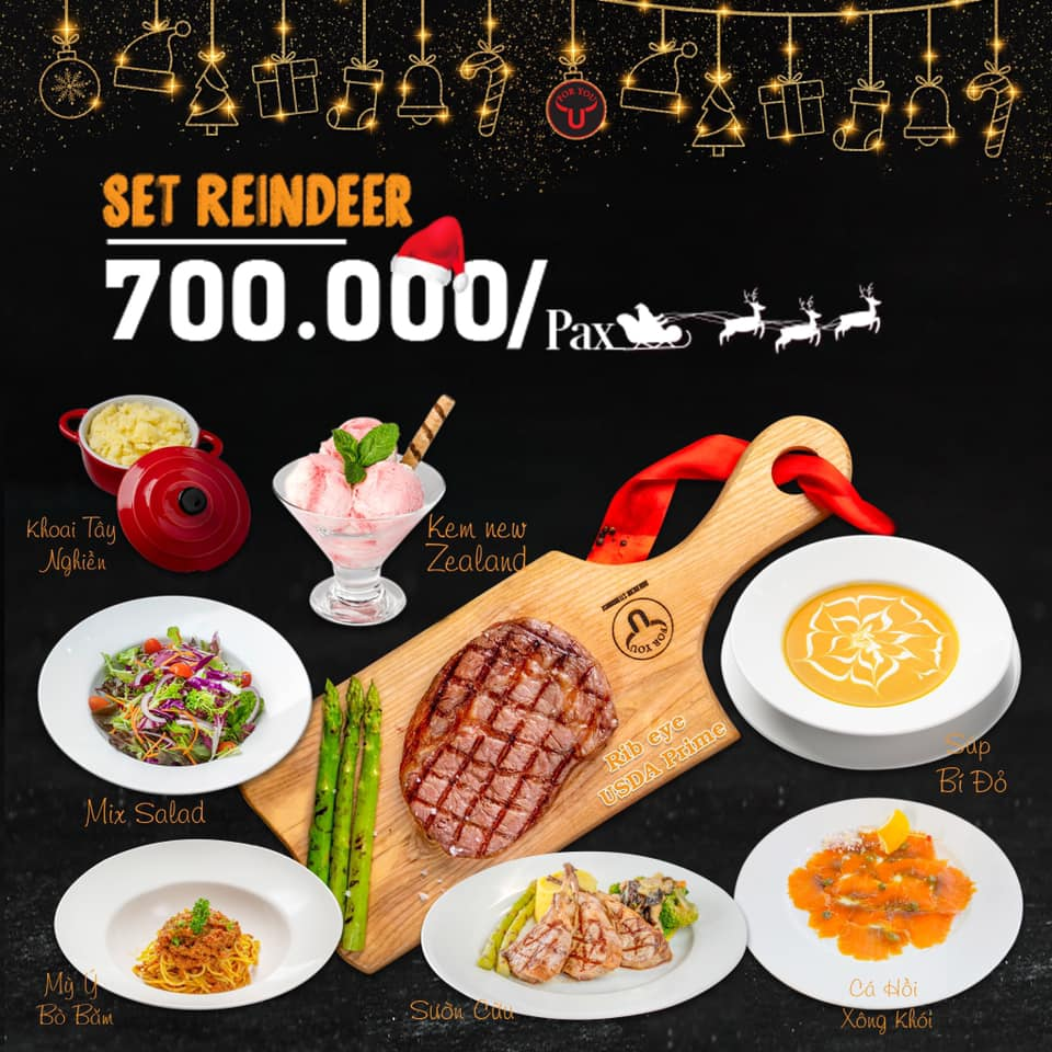 FOR YOU STEAKHOUSE - SWEET CHRISTMAS PARTY AND CELEBRATION